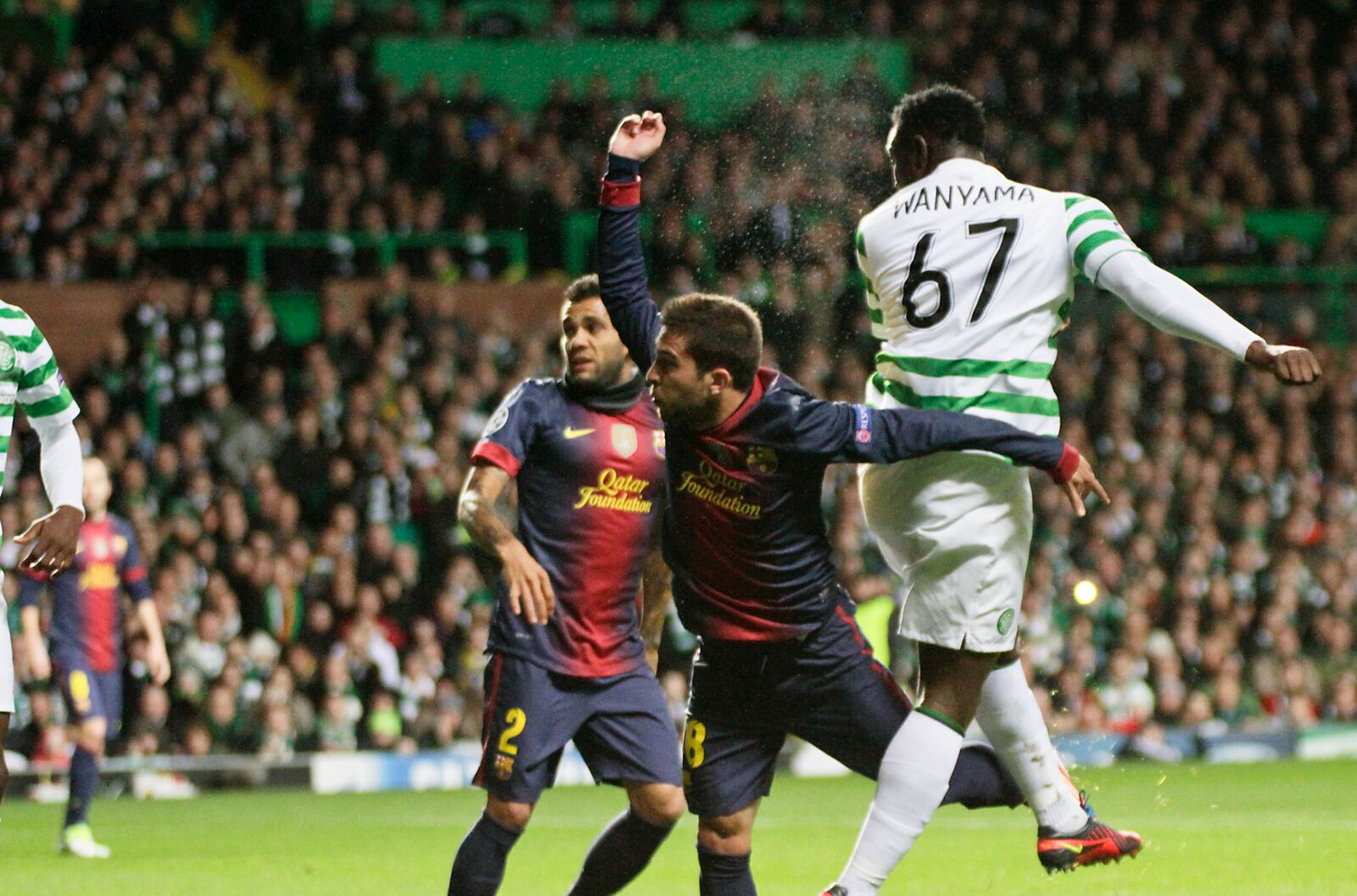 WHY I M A CELTIC SUPPORTER VICTOR WANYAMA