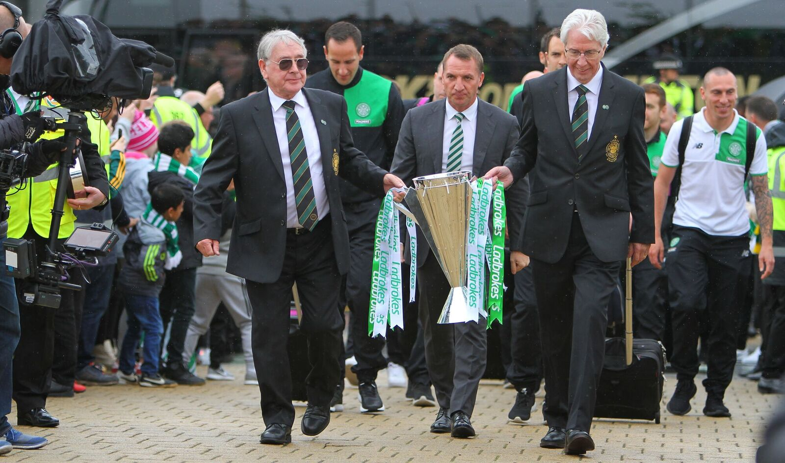 Rodgers Pays Tribute To His Celtic 'Infrangibles'