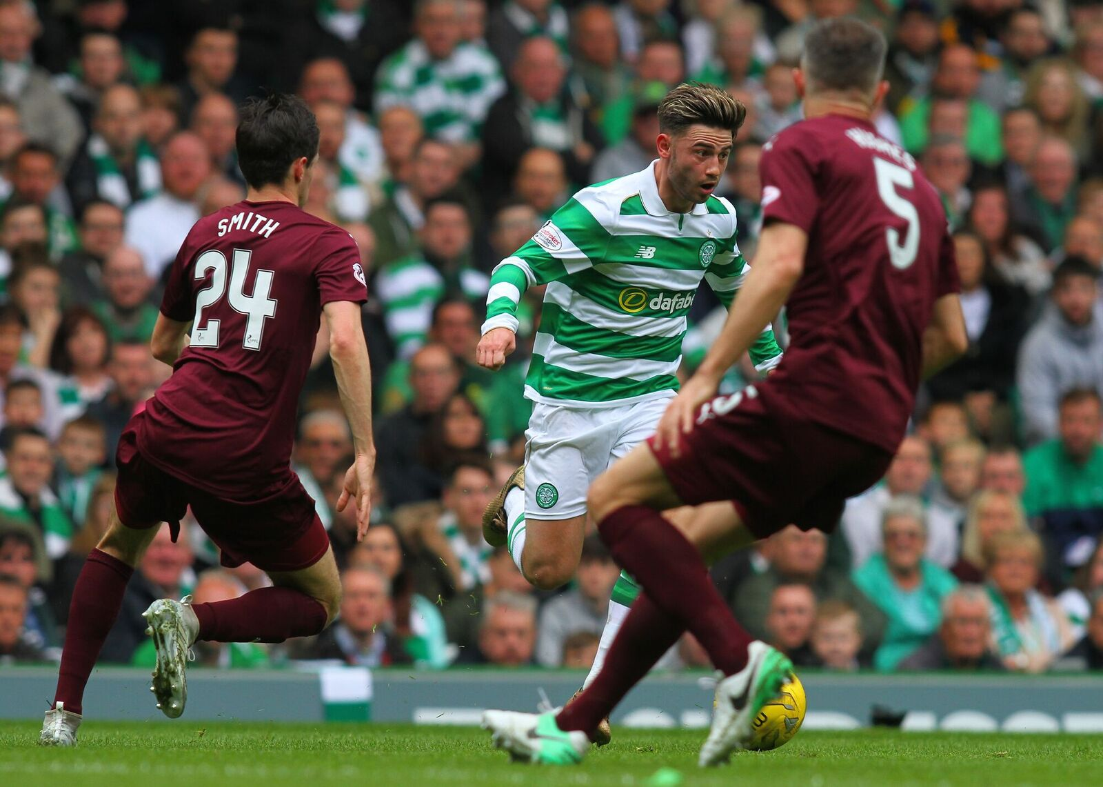 """""""Thanks To These Beautiful Celtic Supporters,"""" Paddy Roberts"""