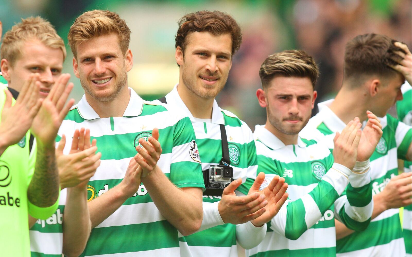 Roberts And Boyata Pay Manchester Tributes