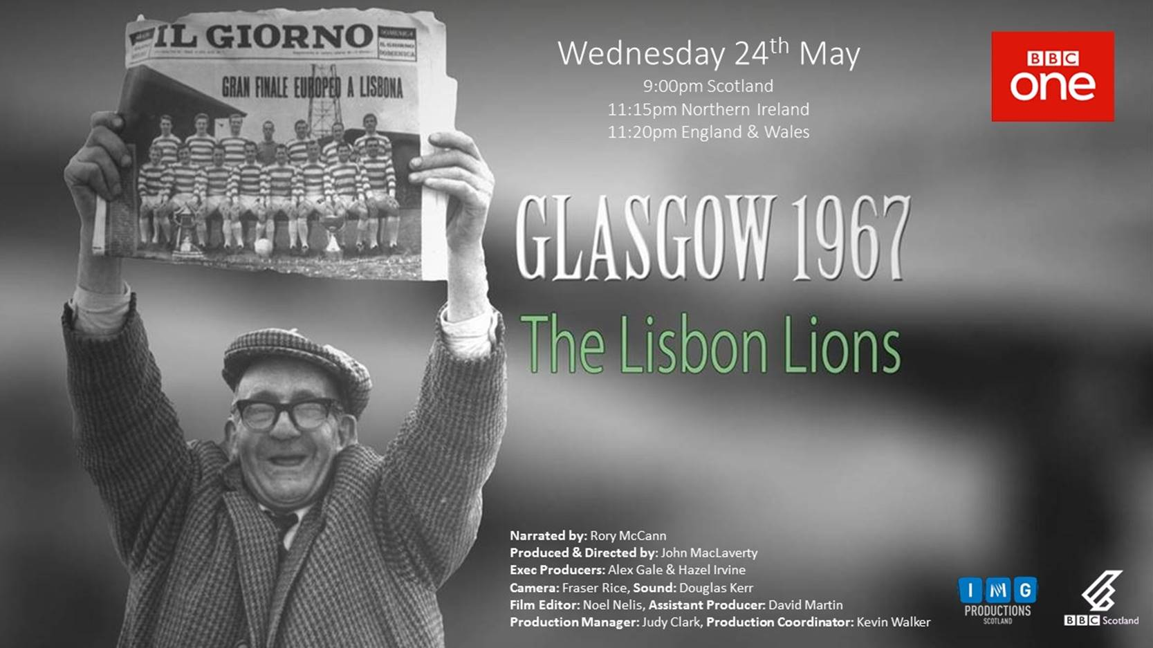 Glasgow 1967, The Lisbon Lions Update